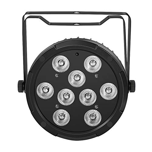 LED Par Lights, YeeSite 36W 9LEDs RGBA LED Stage Wash Lights Sound Activated DMX and Remote Control for Wedding Church Birthday Party Stage Lighting