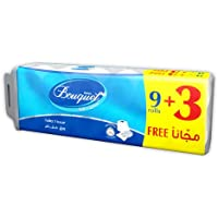 Sanita Bouquet Toilet Tissue Embossed-Pack of 12 Rolls ,2 PLY