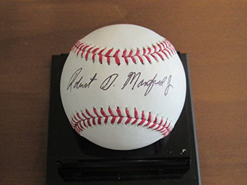 Robert D. Manfred Jr 10th Mlb Commissioner Signed Auto Robert Manfred Omlb - JSA Certified - Autographed - D Junior Robert