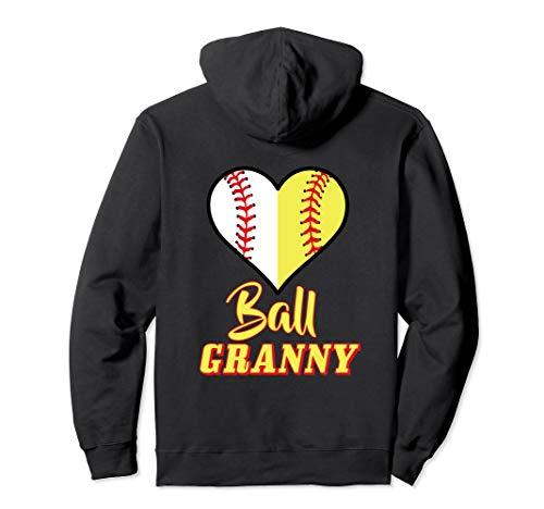 Softball Granny Sweatshirt Baseball Hoodie Ball Grandma Gift