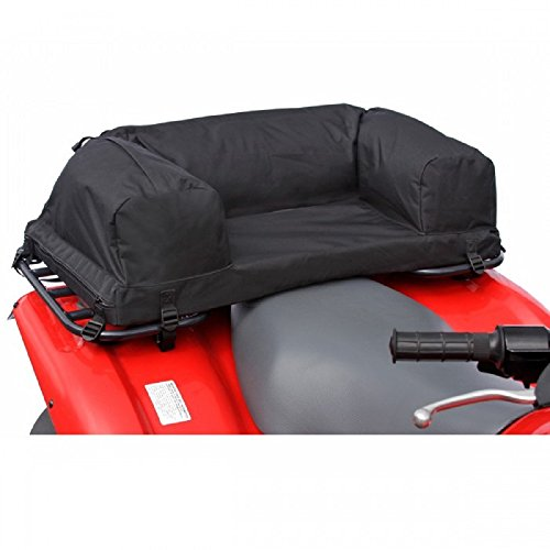 Deluxe Atv - ATV Padded Rear Pack, Black
