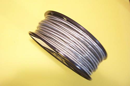 Lotus energy Vinyl Coated Stainless Steel Cable, 1/8