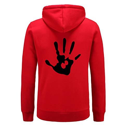 New Women/Men's Hoodies Skyrim Dark Brotherhood Hand Print Hip hop Hooded