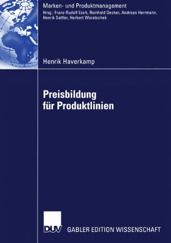 Preisbildung für Produktlinien (Marken- und Produktmanagement) Taschenbuch – 1. Januar 2005 Henrik Haverkamp 3824483467 Business/Economics DRAMA / Shakespeare