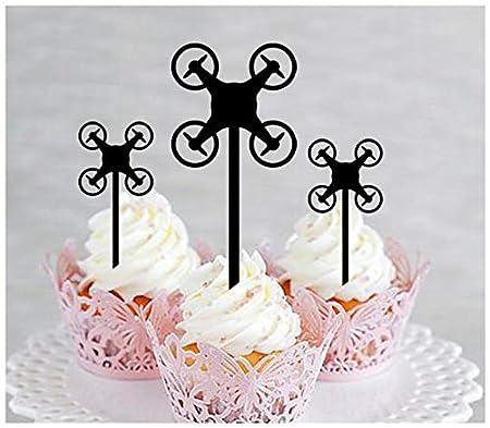 Decoración, decoración de cupcakes, aniversario, boda ...