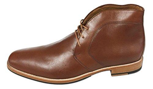Artisan Handcrafted Men's Dress Shoes by Tauer & Johnson - Castle - Blucher - Chukka Boot ()