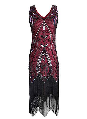 Women Flapper Dresses Plus Size Vintage 1920s Gatsby Inspired Dress ...