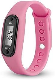 AlexGT Bracelet Pedometer Calorie Counter LCD Walking Distance Run Step Watch Bracelet