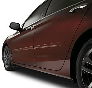 Genuine Honda Accessories 08P05-T2A-120  Crystal Black Pearl Side Body Molding Kit  for Select Accord Models