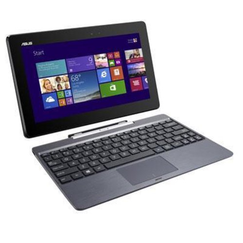 ASUS Transformer Book T100HA-C4-GR 10.1-Inch 2 in 1 Touchscreen Laptop (Cherry Trail Quad-Core Z8500 Processor, 4GB RAM, 64GB Storage, Windows...