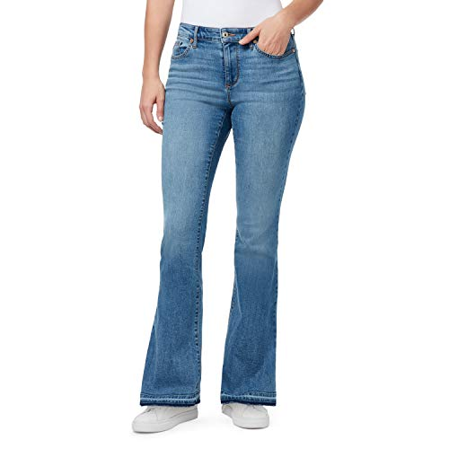 CHAPS Jeans CHAPS Jeans Women's Mid Rise Boot Cut Full Length Jean, Mereen, 1030 Short from Amazon   Daily Mail