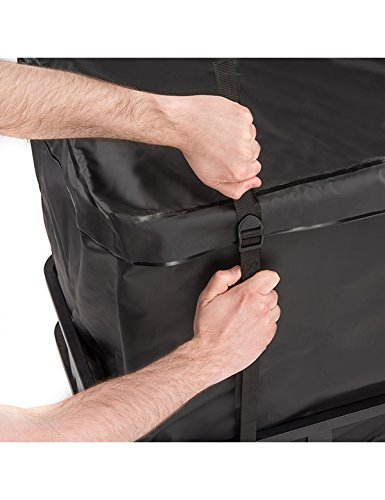 """Luggage Vault Cargo Management 4350438893 15 Cubic Feet Hitch Cargo Carrier Bag from Vault Cargo Heavy Duty Waterproof Cargo Hitch Carrier Bag Perfect for Camping and Outdoor Gear 59/"""" x 24/"""" x 24/"""" Cargo Hitch Bag"""