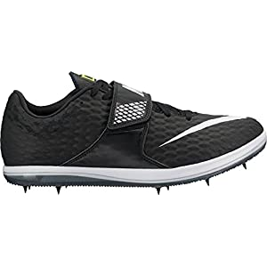 Nike Men's High Jump Elite Track and Field Shoes(Black/White, 10 D(M) US)