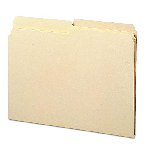 Smead File Folder, Reinforced 1/2-Cut Tab, Letter Size, Manila, 100 Per Box (10326)