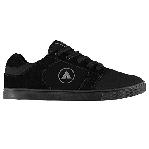 946f1a9a14 Original Shoes Airwalk Musket Skate Shoes Mens Black Skateboarding Trainers  Sneakers (UK10) (EU44