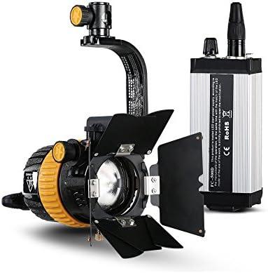 500D CRI 3200 / 5500K 50W Foco LED para fotografía de cámara de ...