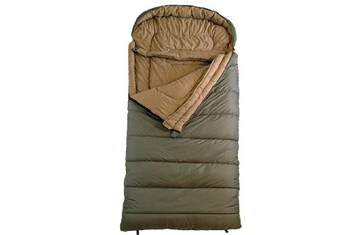 TETON Sports Celsius Regular -18C/0F Sleeping Bag; 0 Degree Sleeping Bag Great for Cold Weather Camping; Green, Left Zip
