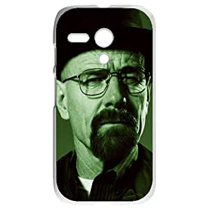 Breaking Bad Motorola G White Phone Case Gift Holiday Gifts Souvenir Halloween gift Christmas Gifts TIGER154826