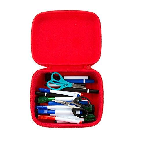 ZIPIT Beast Box Jumbo Storage Case, Red Photo #2