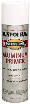 Rust-Oleum 254170 15-Ounce Professional Primer Spray Paint, Aluminum by Rust-Oleum
