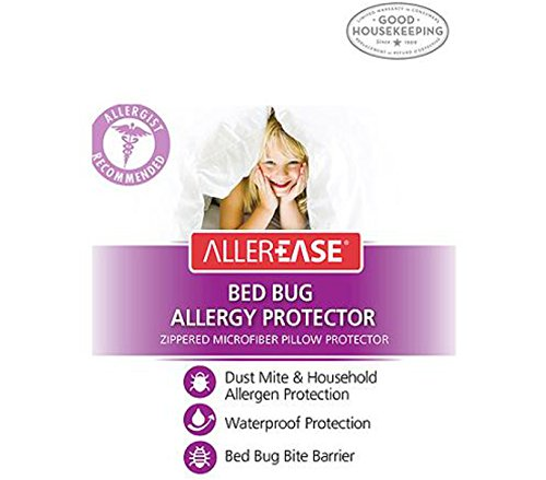 AllerEase Bed Bug Allergy Protection Pillow Cover