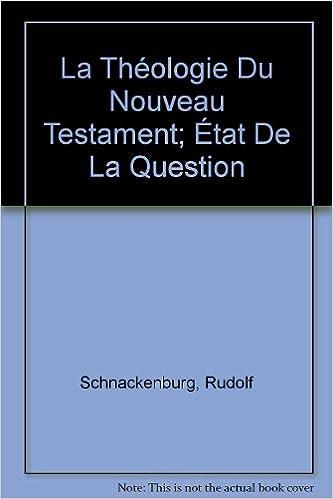 Livres gratuits La théologie du Nouveau Testament. pdf ebook