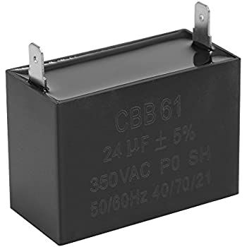 2 pcs CBB61 24uF 23uF 300 350 400 450V Generator Capacitor for JKD DIANZ DONGRONG RUVA
