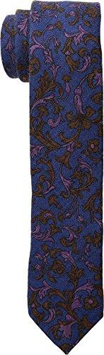 Ted Baker Neckties (Ted Baker Mens Floral Scroll Wardrobe Dark Blue One Size)