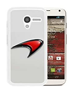 Hot Sale Motorola Moto X Case ,Popular Unique Designed Case With Mclaren logo 1 White For Motorola Moto X Case High Quality Phone Case