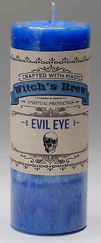 Arcadia Marketplace Presents Coventry Creations Witches Brew - 'Evil Eye Candle' by Coventry Creations
