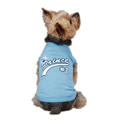 Casual Canine Polyester Top Dog Royalty Jersey, Medium, 16-Inch, Prince