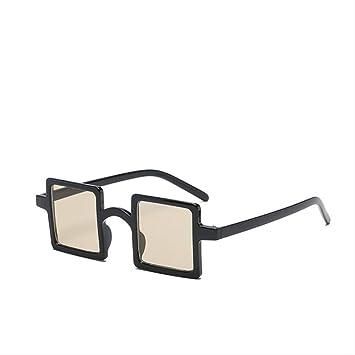 YKDDGG Gafas de Sol Gafas de Sol pequeñas Mujeres Espejo ...