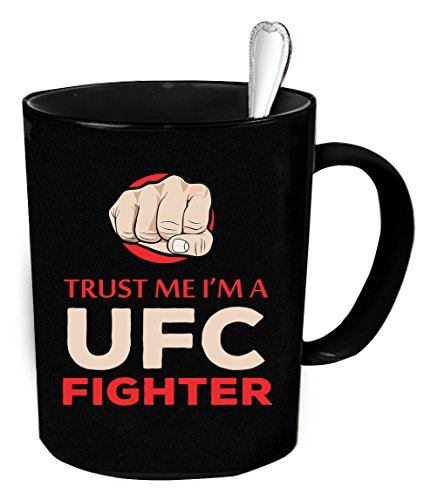 Wonderful Mugs UFC fighters Coffee Mug - 11 oz. UFC fighters funny gift.