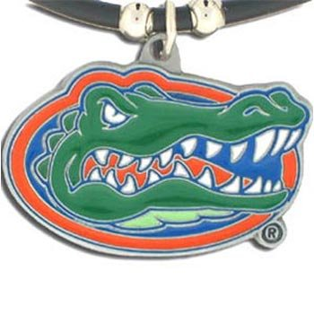 Gators Rubber Florida (NCAA Florida Gators Rubber Cord Necklace)