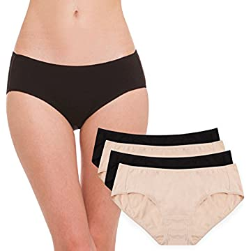 Hesta Women's Organic Cotton Period Menstrual Sanitary Protective ...