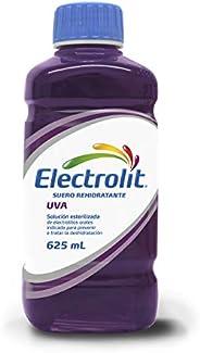 Electrolit Suero Rehidratante, Sabor Uva, Color, 625 Mililitros (Ml), Pack Of/Paquete De