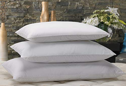 "Marriott Down Alternative Eco Pillow - Hypoallergenic Eco-Friendly Pillow with 100% Recycled Fill - Standard (20"" x 26"")"