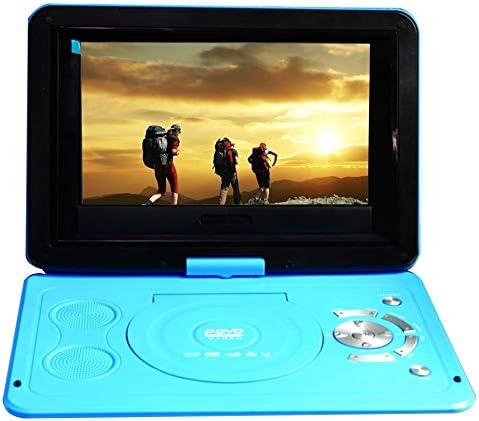 DVDドライブ ポータブルミニDVDプレーヤー13.9inch HDテレビ映画LCDモバイルスイベルのUSBスクリーンの回転車 YYFJP