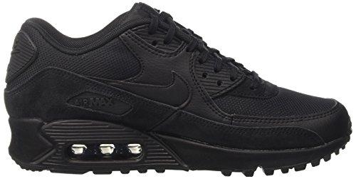 Nike Damen Wmn Air Max 90 Gymnastikschuhe Zwart (black / Zwart-zwart)