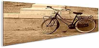 De Imágenes sobre lienzo bicicleta holandesa Sepia Retro bicicleta ...