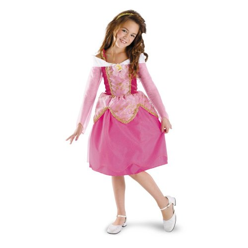 [Aurora Deluxe - Size: 3T-4T] (Toddler And Girls Aurora Princess Costumes)