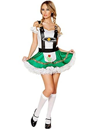 Oktoberfest Costume Women - Sexy Women German Maid Halloween Beer Girl Dress  sc 1 st  Amazon.com & Amazon.com: Oktoberfest Costume Women - Sexy Women German Maid ...