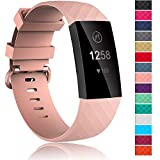 Velavior Waterproof Bands for Fitbit Charge 3 / Charge3 SE, Replacement Wristbands for Women Men Small Large