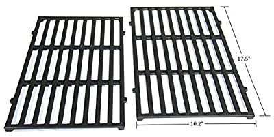 """Hongso 17.5"""" Grill Cooking Grid Grates Replacement for Weber Spirit 200 Series, Spirit E-210 (2013-2016), Spirit S-210 (2013-2016) Gas Grills, 7637 PCG637"""