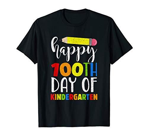 Happy 100th Day of Kindergarten Shirt for Teacher or -