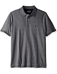 7421bcffb Men s Big and Tall Classic Fit Short Sleeve Solid Performance Deck Polo  Shirt