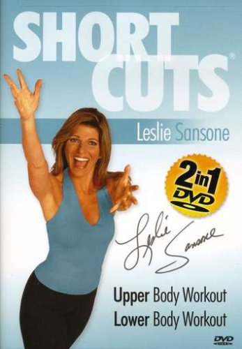 Leslie Sansone Shortcuts:  Upper Body Workout, Lower Body Workout by Gaiam Americas