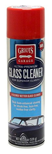 Griots Garage Foaming Glass Cleaner, 19 oz - Case of 3 (Best Glass Cleaner Recipe)