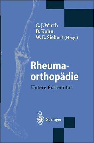 Book Rheumaorthopädie - Untere Extremität