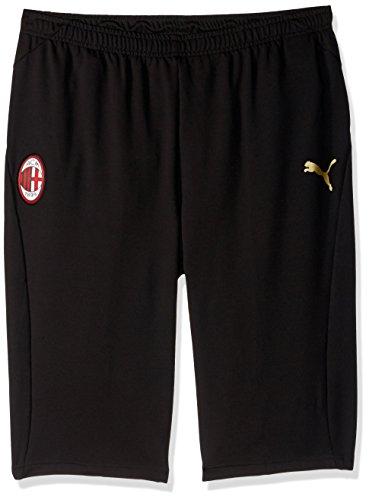 (PUMA Men's AC Milan Training 3/4 Pants, Black/Victory, XXL)